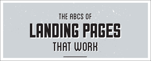 The ABC's of Landing Pages
