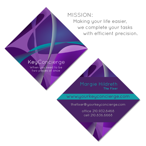 Penguin suits ad agency is accountable to clients key concierge business card and mission statement colourmoves